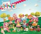 Lalaloopsy, the rag dolls