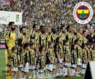 Fenerbahçe, champion Super Lig 2013-2014, Turkey Football League