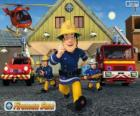 The firefighters of Pontypandy