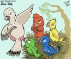 Birds of colors, Julieta Vitali
