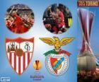 Sevilla vs Benfica. Europe League 2013-2014 Final in the Juventus Stadium, Turin, Italy