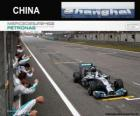 Lewis Hamilton 2014 Chinese Grand Prix champion