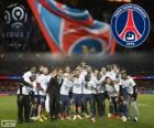 Paris Saint Germain, PSG, Ligue 1 2013-2014 champion, France football league
