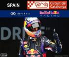 Daniel Ricciardo - Red Bull - 2014 Spanish Grand Prix, 3rd classified