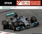 Nico Rosberg - Mercedes - 2014 Spanish Grand Prix, 2º classified