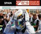 Lewis Hamilton, 2014 Spanish Grand Prix champion