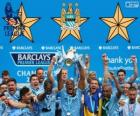 Manchester City, Premier League 2013-2014 champion, England Football League