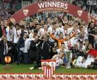Sevilla FC, champion UEFA Europe League 2013-2014
