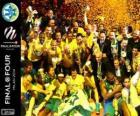 Maccabi Electra Tel Aviv, Euroleague Basketball 2014 champion