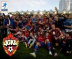 CSKA Moscow, Champion League Premier 2013-2014, the russian football league