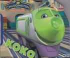 Koko, electric locomotive from Chuggington