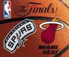 2014 NBA The Finals. San Antonio Spurs vs Miami Heat