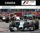 Nico Rosberg - Mercedes - Grand Prix of Canada 2014, 2º classified