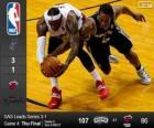 2014 NBA The Finals, 4th match, San Antonio Spurs 107 - Miami Heat 86