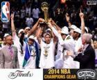 Spurs, NBA 2014 champions