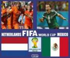 Netherlands - Mexico, Eighth finals, Brazil 2014