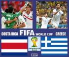 Costa Rica - Greece, Eighth finals, Brazil 2014