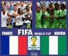 France - Nigeria, Eighth finals, Brazil 2014