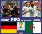 Germany - Algeria, Eighth finals, Brazil 2014