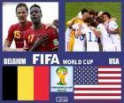 Belgium - United States, eighth finals, Brazil 2014