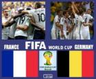 France - Germany, quarter-finals, Brazil 2014