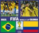 Brazil - Colombia, quarter-finals, Brazil 2014