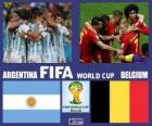 Argentina - Belgium, quarter-finals, Brazil 2014