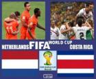 Netherlands - Costa Rica, quarter-finals, Brazil 2014
