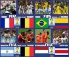 Quarter-finals, Brazil 2014