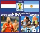 Netherlands - Argentina, semi-finals, Brazil 2014