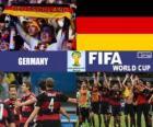 Germany celebrates its classification, Brazil 2014