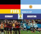 Germany vs Argentina. Final of FIFA World Cup Brazil 2014