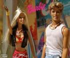 Barbie and Ken in summer
