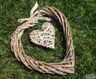 Heart of rattan
