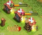 Clash of Clans of barracks