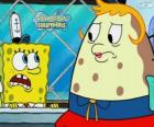 SpongeBob and Mrs. Puff