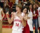 Gabriella Montez embraces Troy Bolton