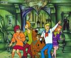 Scooby Doo and its gang of friends are afraid