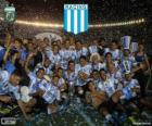 Racing Club de Avellaneda, champion of the Torneo de Transición 2014 in Argentina