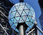 The ball of the new year, Times Square, Manhattan, New York