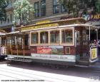 Cable Cars of San Francisco, trams are pulled by a cable