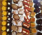 Mini sweet desserts