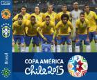 Brazil Copa America 2015