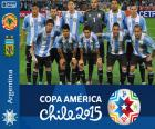 Selection of Argentina, Group B of the Copa America Chile 2015
