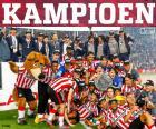 PSV Eindhoven champion 2014-2015