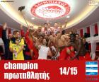Olympiacos FC champion 2014-2015