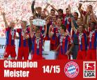 Bayern Munich, champion 2014-2015