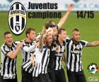 Juventus champion 2014-20015