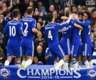 Chelsea FC champion 2014-15