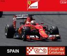Vettel G.P Spain 2015